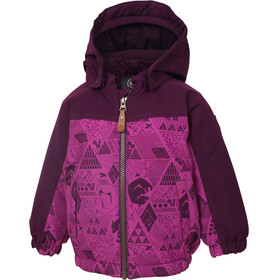 Color Kids Dion Mini Padded Jacket Kids Berry